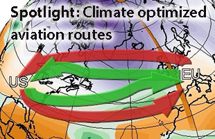 Spotlight - Climate-optimized aviation routes