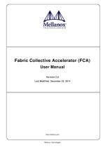 Mellanox FCA User Manual