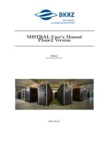 DKRZ's Mistral User's Manual