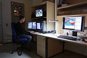 Videoschnittplatz im DKRZ Video- und Visualisierungslabor