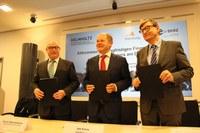 Abkommen zur langfristigen Finanzierung des Klimarechners am DKRZ unterzeichnet