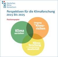 """DKK veröffentlicht """"Perspektiven für die Klimaforschung"""""""