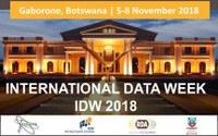 DKRZ auf der International Data Week und dem WDS Repositories' Day