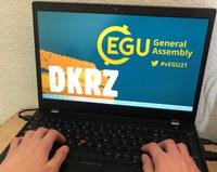 DKRZ auf der #vEGU21