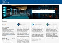 DKRZ' Weltklimadatenbank WDC Climate in neuem Kleid