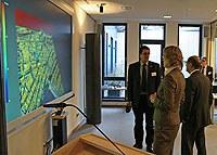 Hoher Besuch: Olaf Scholz und Dorothee Stapelfeldt am KlimaCampus