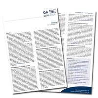 Infobrief der Gauß-Allianz