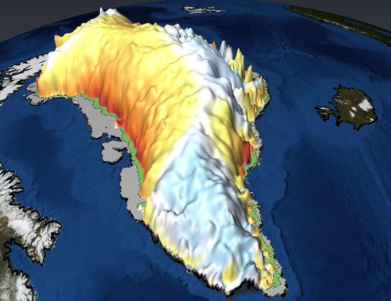 Grönland im Treibhaus