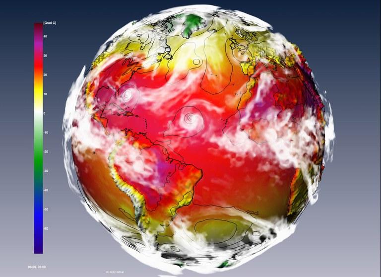 Visualisierungen von Simulationsdaten