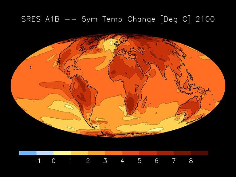 Beitrag des Max-Planck-Instituts zur CMIP3 (IPCC AR4) Datenbasis (2007)