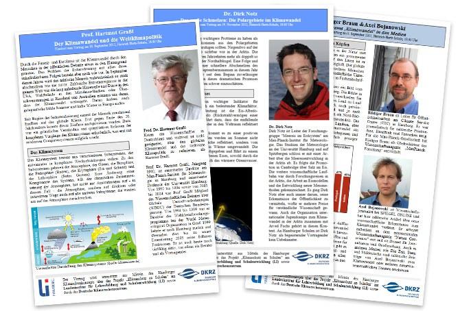 Infoblätter zum Klimawandel
