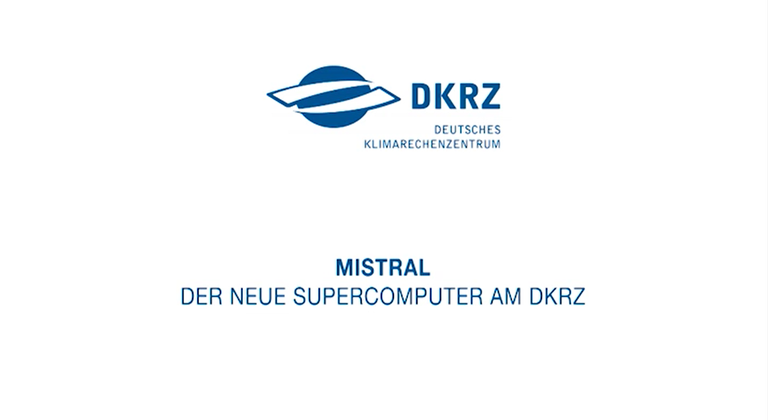 Video: The supercomputer Mistral (2015)
