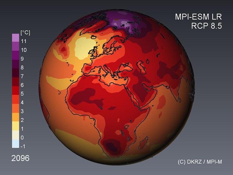 CMIP5 / IPCC AR5 climate scenarios