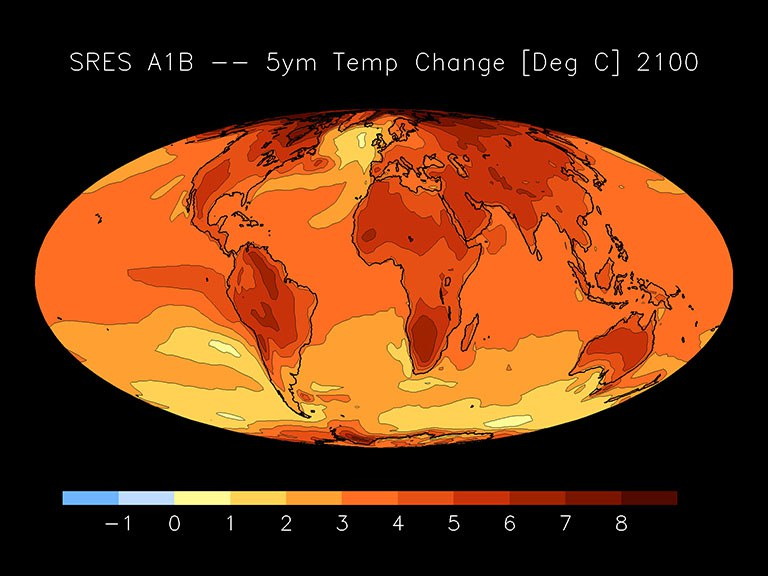 IPCC AR4 (2007) Simulations