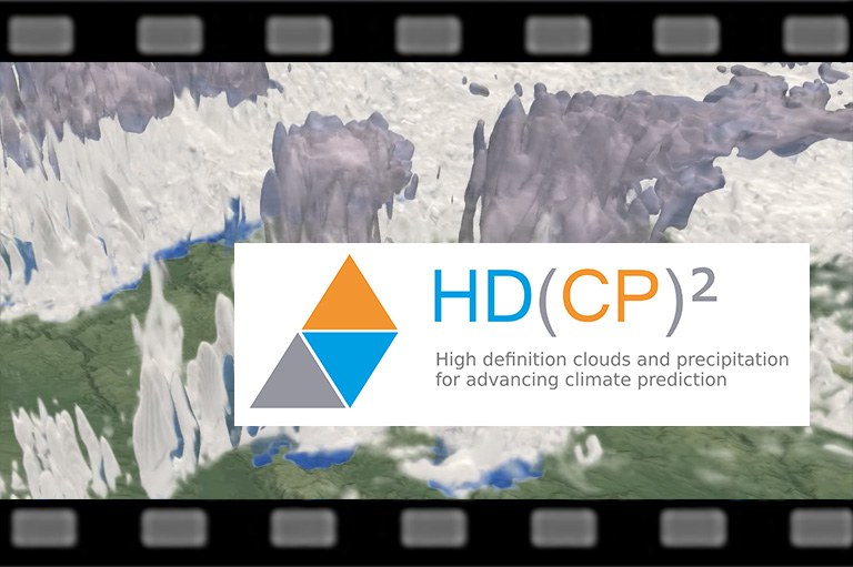 HD(CP)² - Cloud-resolving simulation over Germany