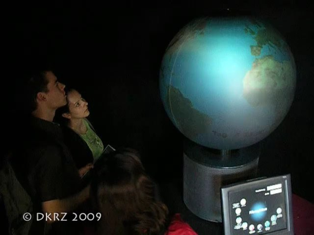 First Version of the Climate Globe