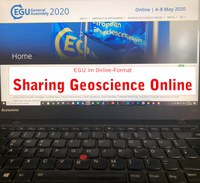 European conference of Earth scientists: EGU 2020 goes online