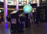 "Climate Globe exhibit and ""meermenschen"" at Planetarium Hamburg"