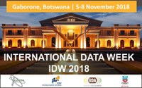DKRZ at the International Data Week and WDS Repositories' Day