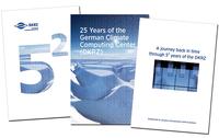 """English jubilee publication """"25 years DKRZ"""""""