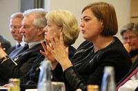 Senator for Science Fegebank visits KlimaCampus Hamburg