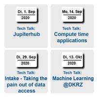 Tech Talks: A new series of virtual talks at DKRZ